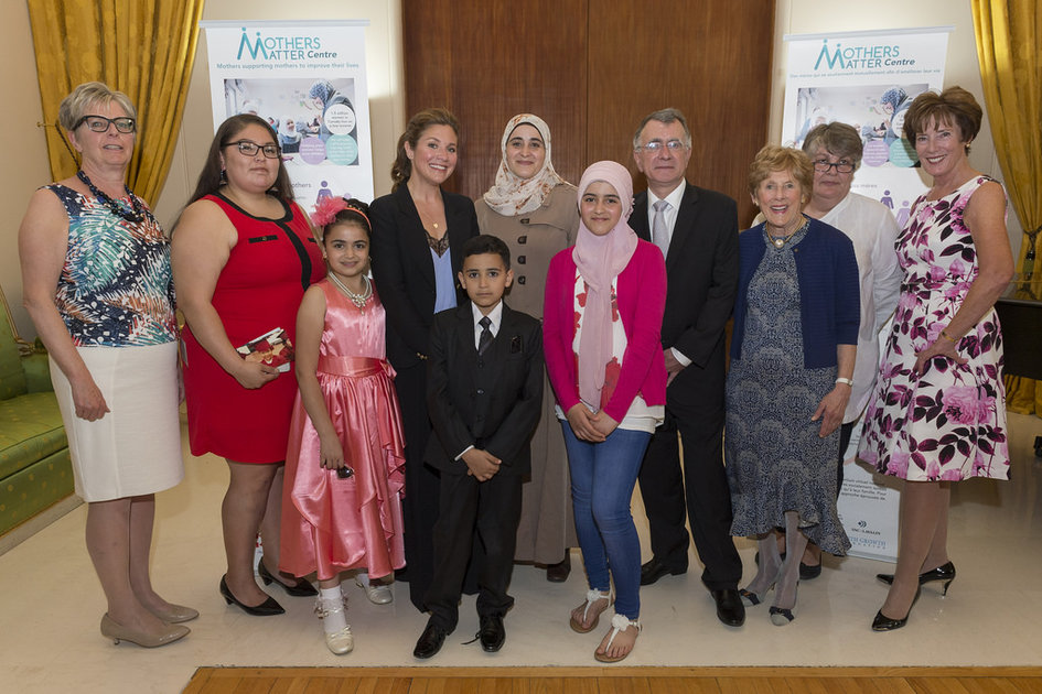 Because Mothers Matter event held at the French Embassy (May 16, 2017)